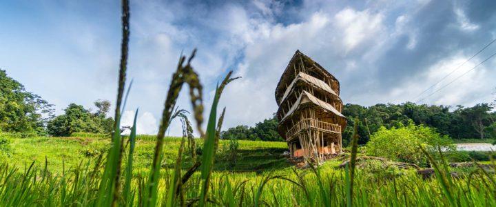 Giant Bamboo Hut & Mae Klang Luang Hill